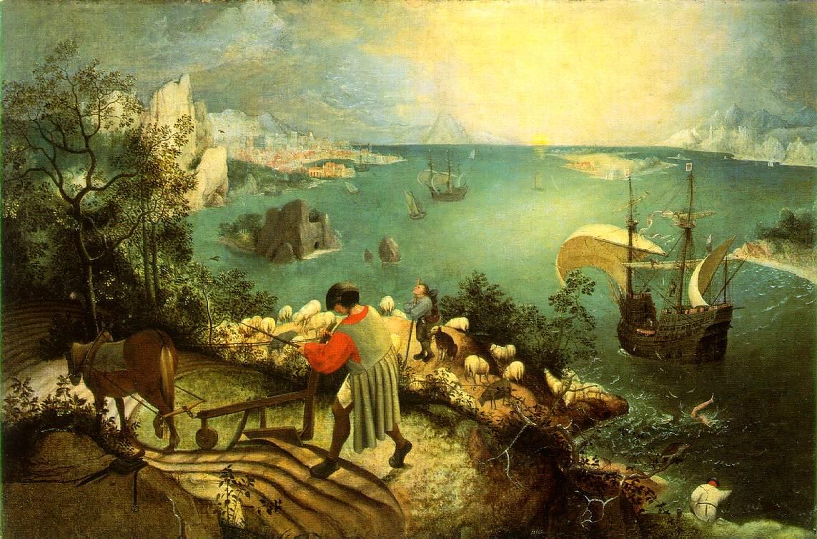370px-Bruegel,_Pieter_de_Oude_-_De_val_van_icarus_-_hi_res