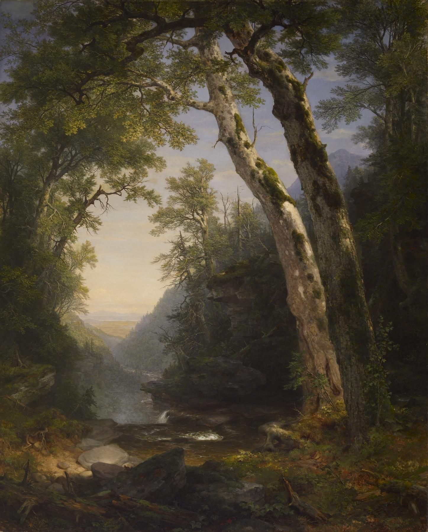 Asher_Brown_Durand_-_The_Catskills_-_Walters_37122