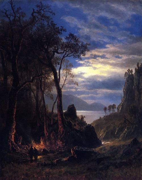 The_Campfire_Albert Bierstadt