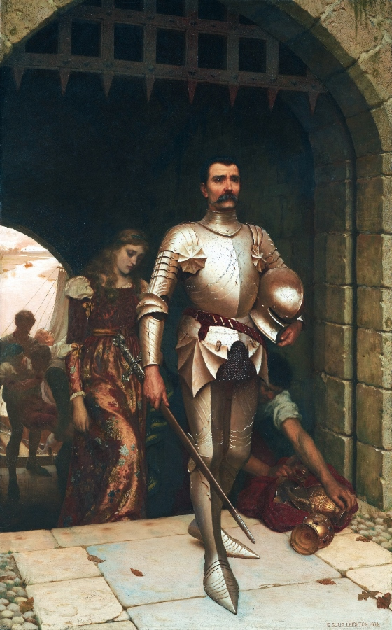 Conquest, by Edmund Blair Leighton
