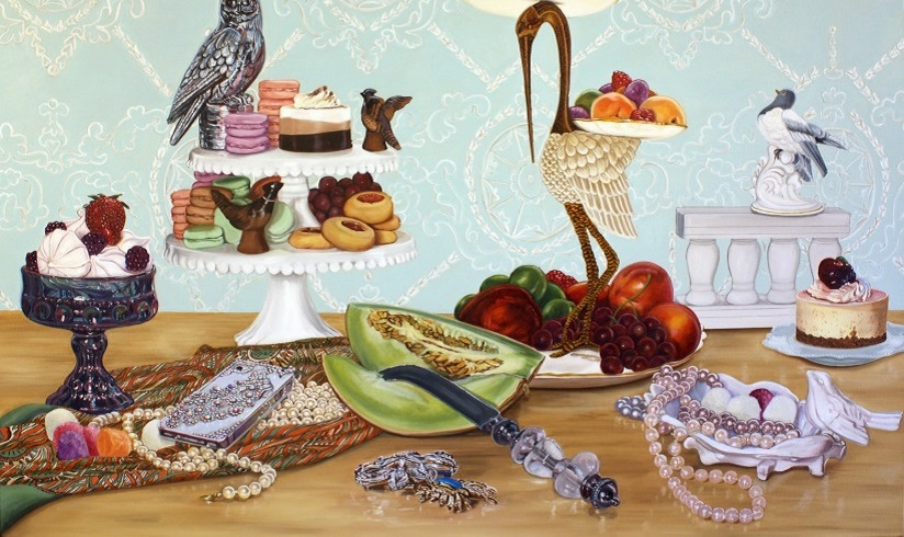 halpern-still-life-with-birds-and-desserts