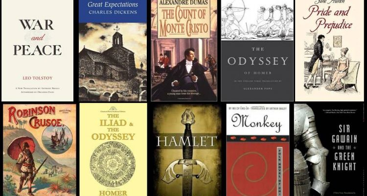 10 Greatest Novels Ever Written Society Of Classical Poets
