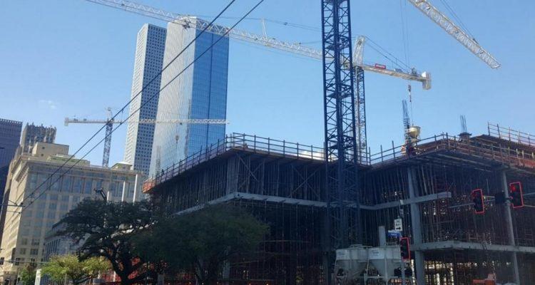 urban sprawl crane